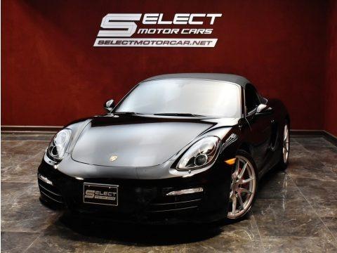Black 2013 Porsche Boxster S