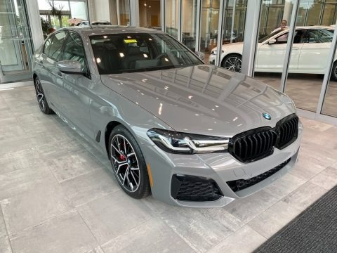 Bernina Gray Metallic 2022 BMW 5 Series 530i xDrive Sedan