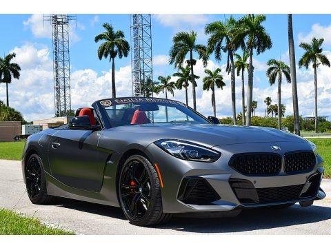 Frozen Grey II Metallic 2021 BMW Z4 sDrive M40i