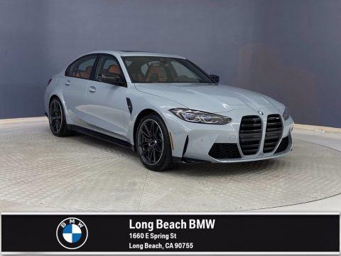 Brooklyn Grey Metallic 2022 BMW M3 Sedan