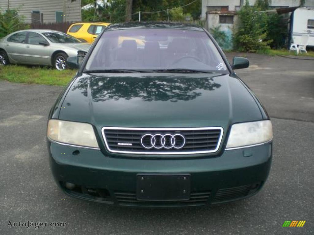 1998 audi a6 2 8 quattro sedan in cactus green pearl 173424 auto j ger german cars for. Black Bedroom Furniture Sets. Home Design Ideas