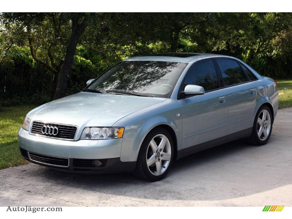 2002 audi a4 1 8t sedan in crystal blue metallic 176111 auto j ger german cars for sale in. Black Bedroom Furniture Sets. Home Design Ideas