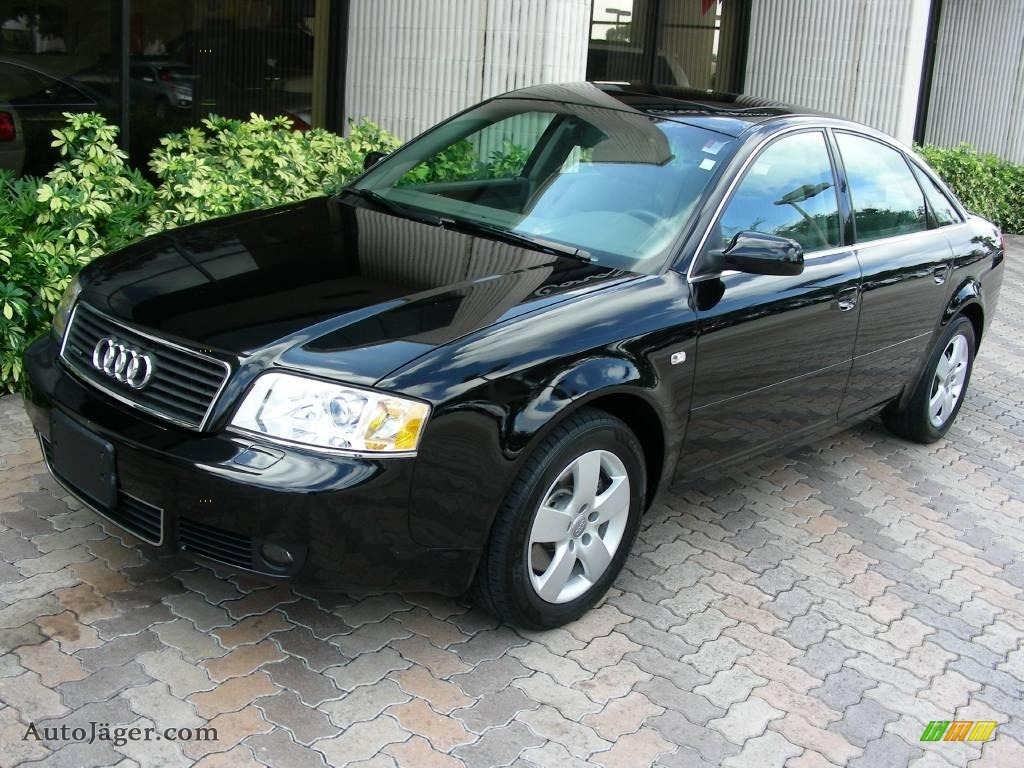 Brilliant Black / Platinum Audi A6 3.0 quattro Sedan