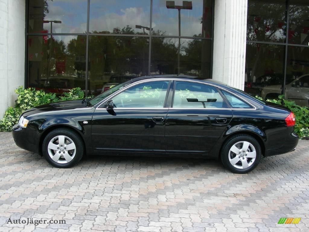 2003 audi a6 3 0 quattro sedan in brilliant black photo 2. Black Bedroom Furniture Sets. Home Design Ideas
