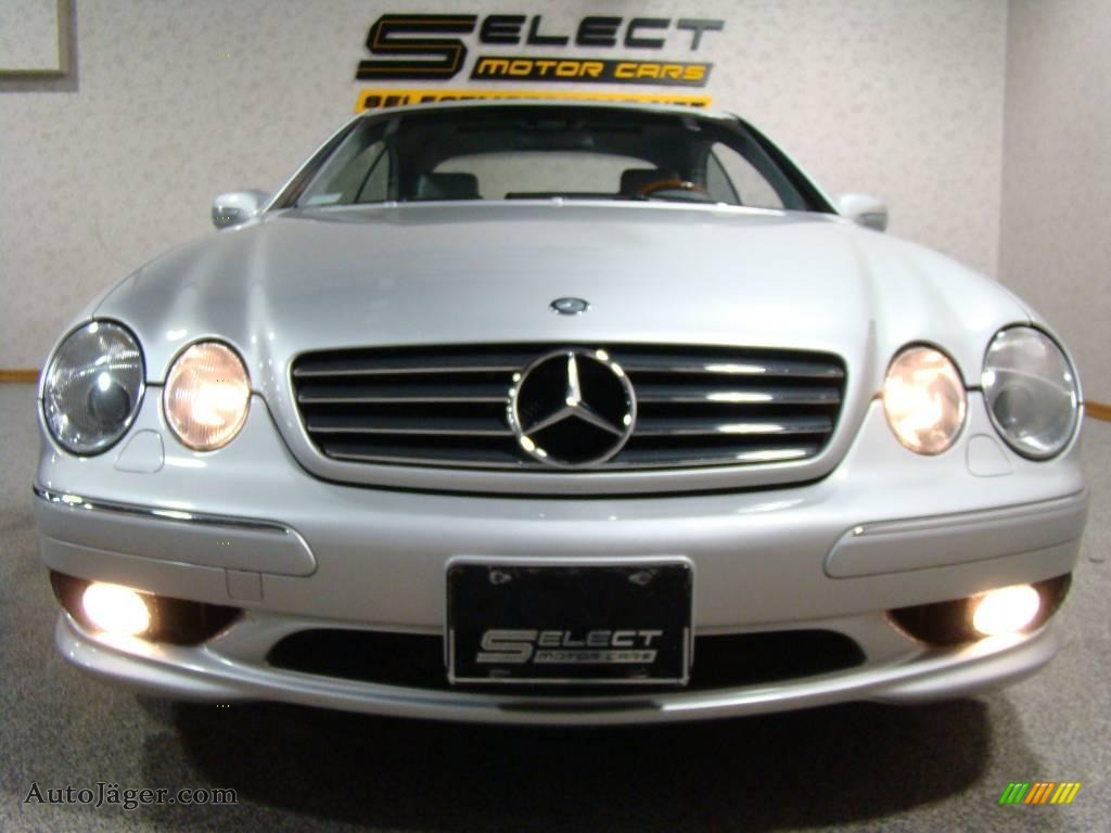 2001 mercedes benz cl 600 in brilliant silver metallic for Simonson mercedes benz