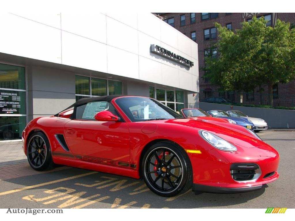 2011 Porsche Boxster Spyder In Guards Red 745397 Auto
