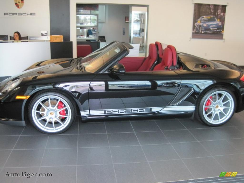 2011 Porsche Boxster Spyder In Black Photo 4 745399