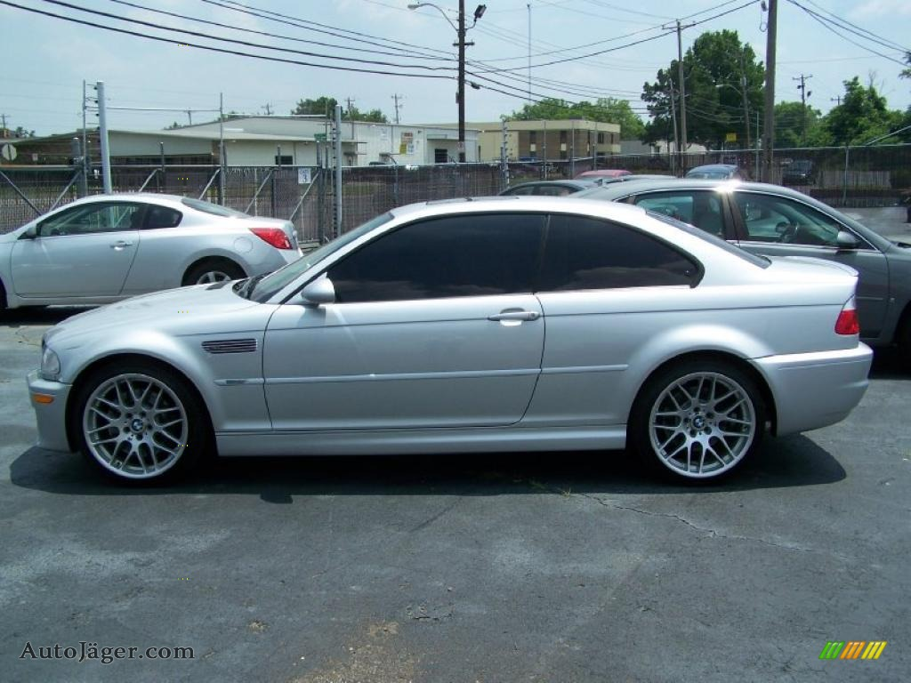 2006 bmw m3 coupe in titanium silver metallic n64545. Black Bedroom Furniture Sets. Home Design Ideas