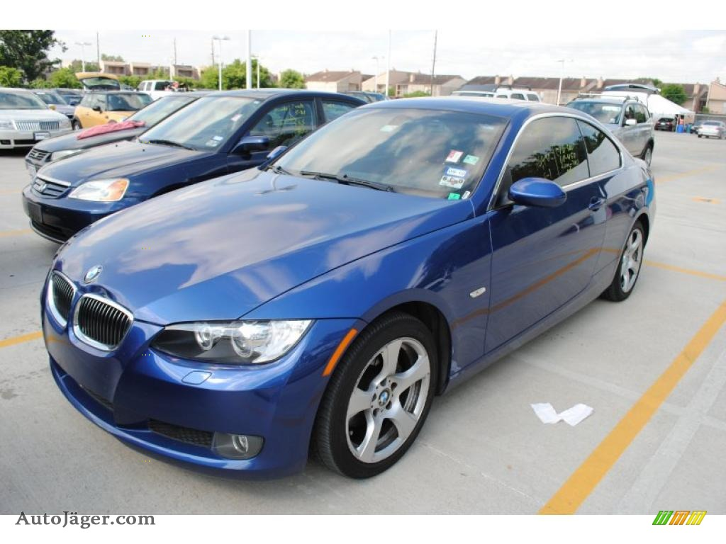 2007 Bmw 3 Series 328i Coupe In Montego Blue Metallic 130388