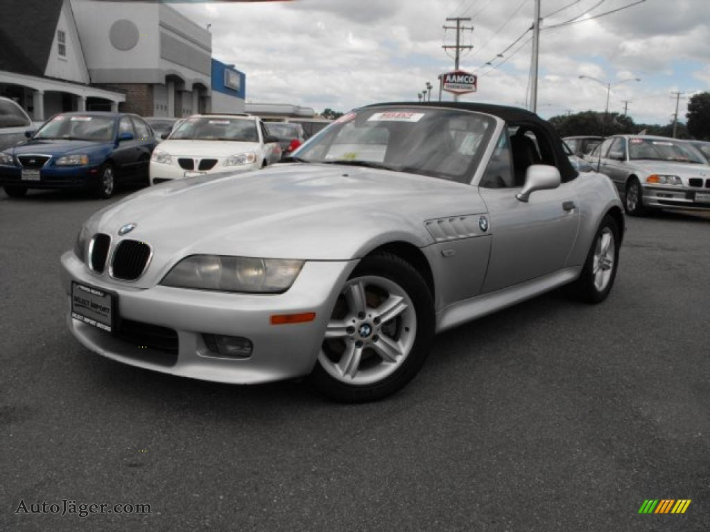 2000 bmw z3 2 3 roadster in titanium silver metallic. Black Bedroom Furniture Sets. Home Design Ideas
