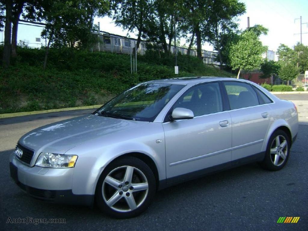 2003 audi a4 3.0 quattro sedan in light silver metallic - 337905