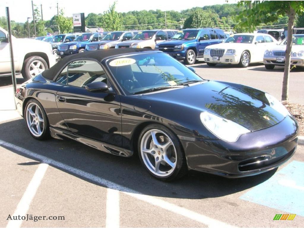 2002 porsche 911 carrera 4 cabriolet in black 652139 auto j ger german cars for sale in the us. Black Bedroom Furniture Sets. Home Design Ideas