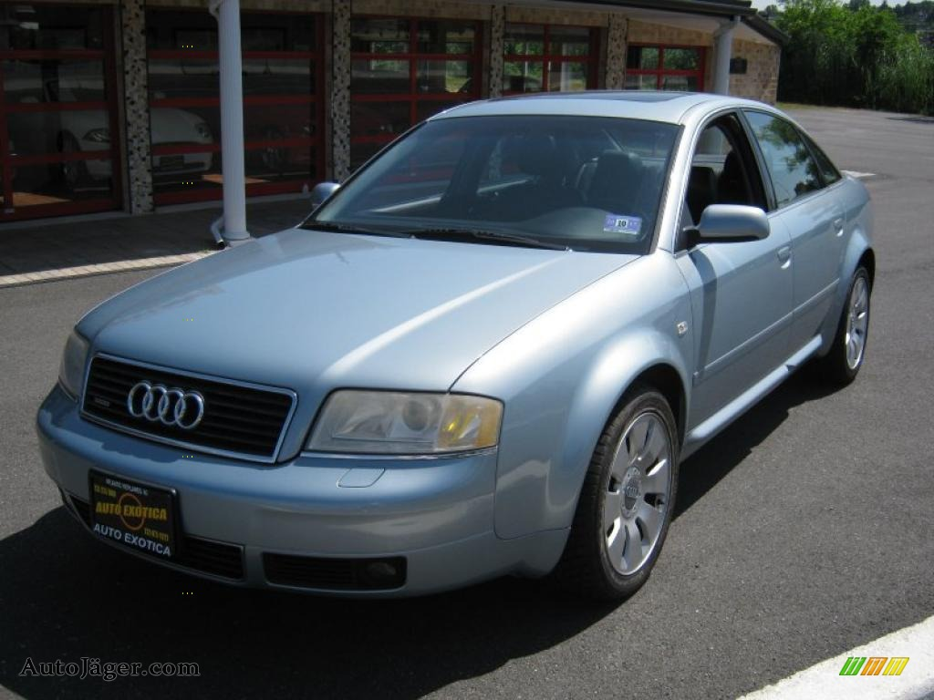 2002 audi a6 4 2 quattro sedan in crystal blue metallic 037809 auto j ger german cars for. Black Bedroom Furniture Sets. Home Design Ideas