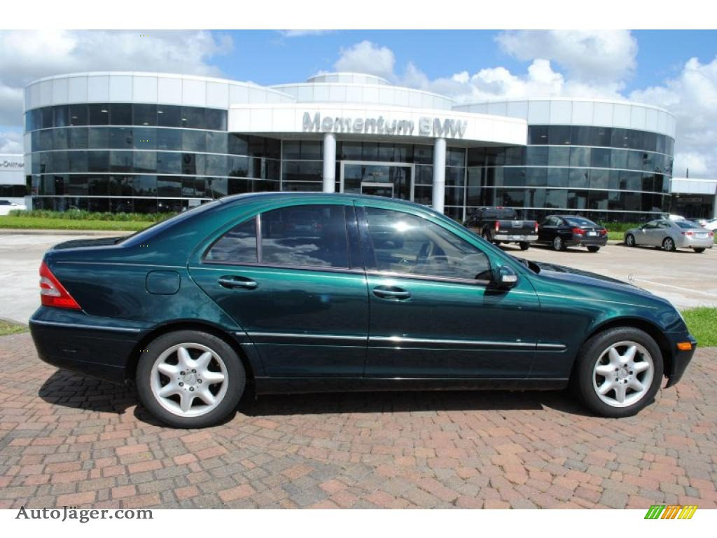 2003 Mercedes Benz C 240 Sedan In Everest Green Metallic