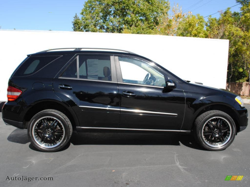 2006 mercedes benz ml 500 4matic in black 026870 auto for Mercedes benz ml 2006 for sale