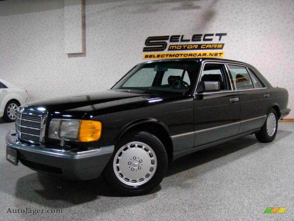 1991 mercedes benz s class 560 sel in black 604259 for 1991 mercedes benz 560sel