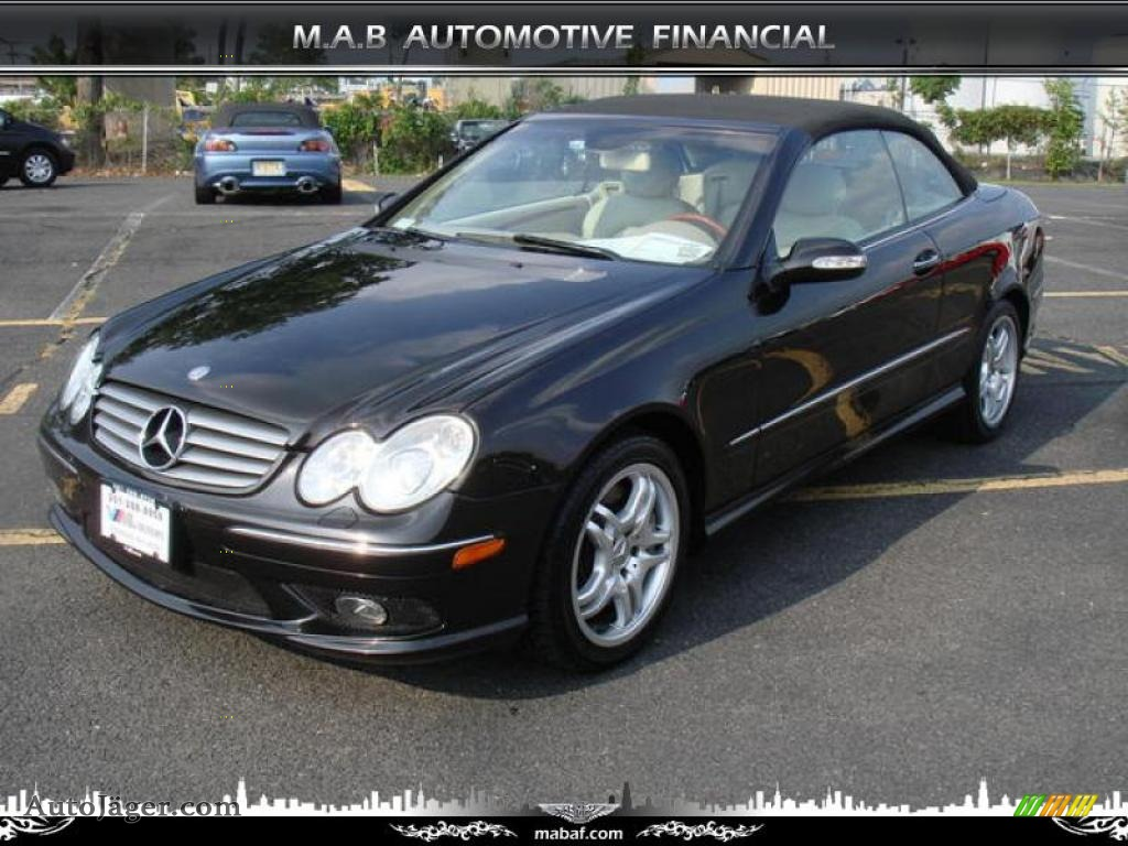 2004 mercedes benz clk 500 cabriolet in black 008478 for 2004 mercedes benz clk 500