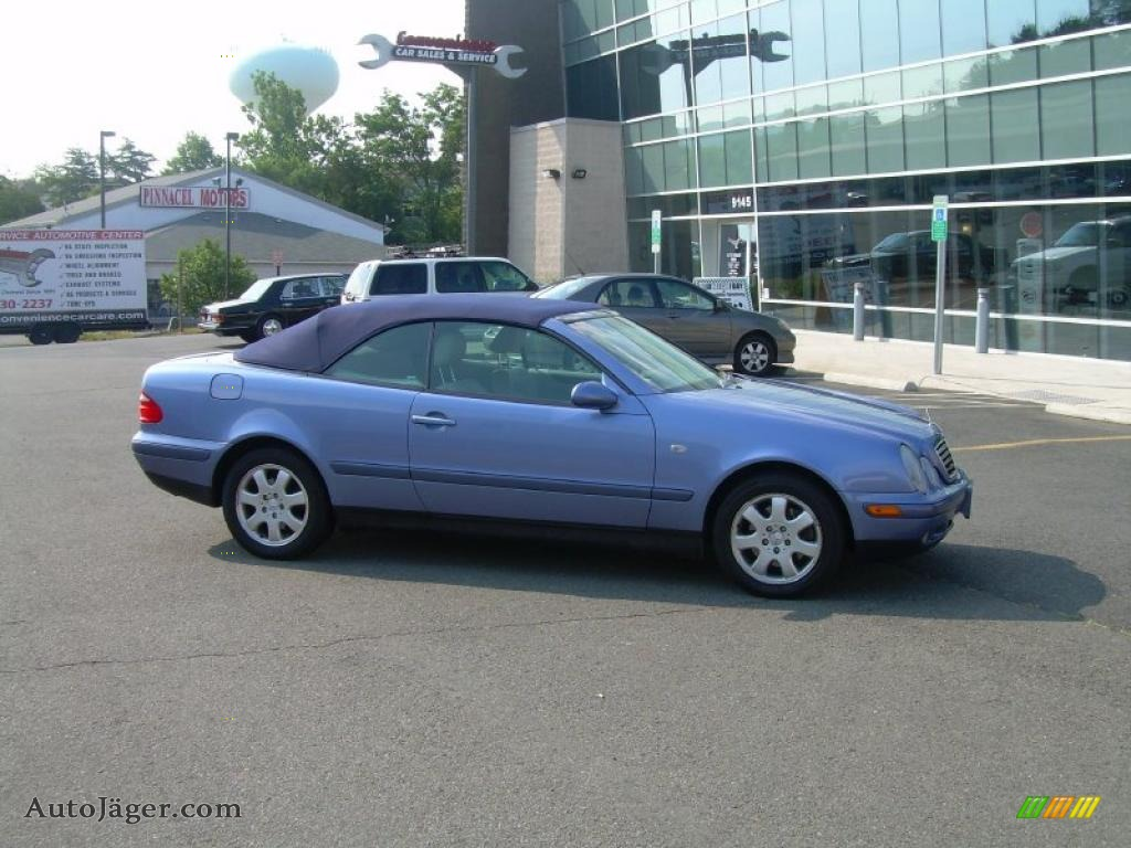 1999 mercedes benz clk 320 convertible in quartz blue for 1999 mercedes benz clk320 for sale
