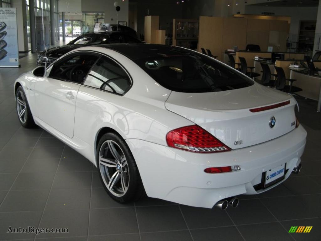 2010 Bmw M6 Coupe In Alpine White Photo 3 Y25297 Auto