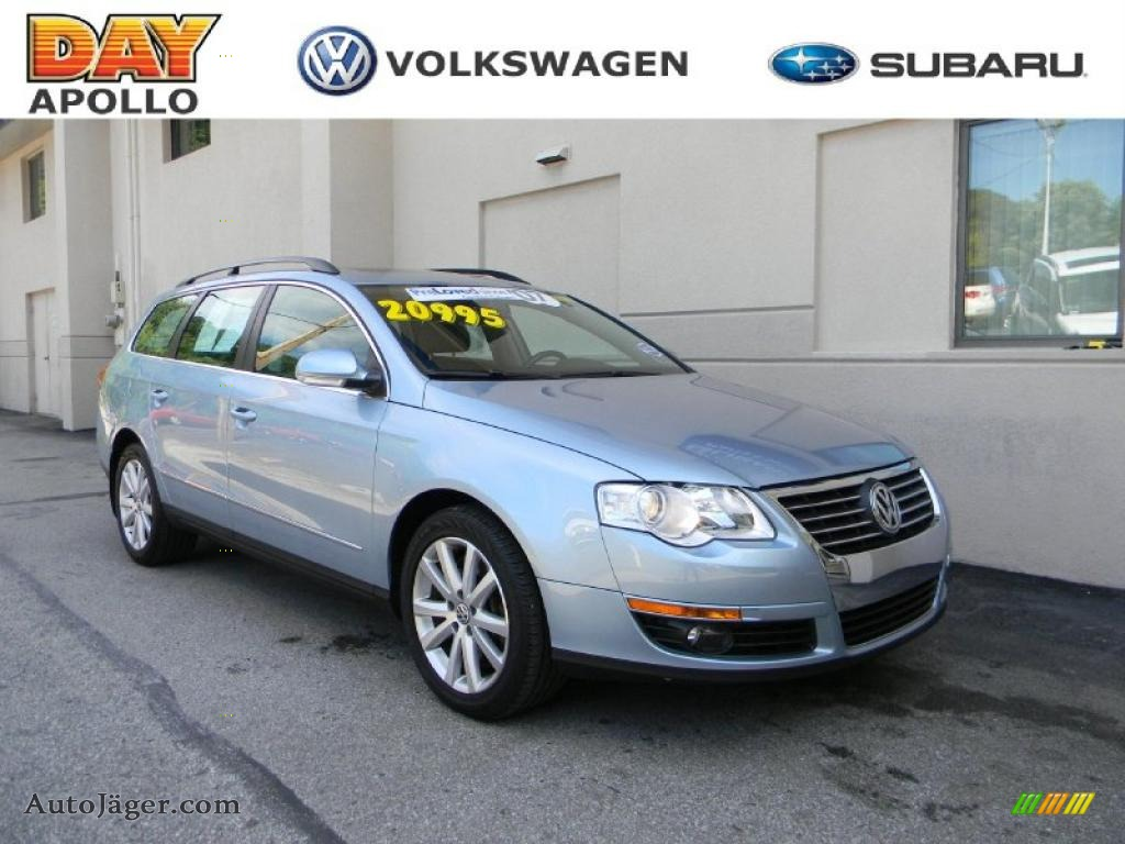 2007 Volkswagen Passat 3.6 4Motion Wagon in Arctic Blue ...
