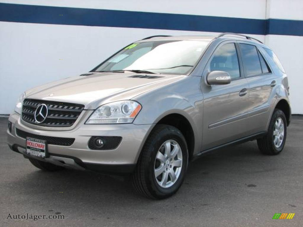 2006 mercedes benz ml 350 4matic in pewter metallic for Mercedes benz ml 2006 for sale