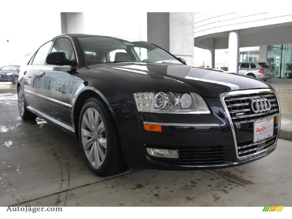 2010 audi a8 l 4 2 quattro in night blue pearl effect 008201 auto j ger german cars for. Black Bedroom Furniture Sets. Home Design Ideas