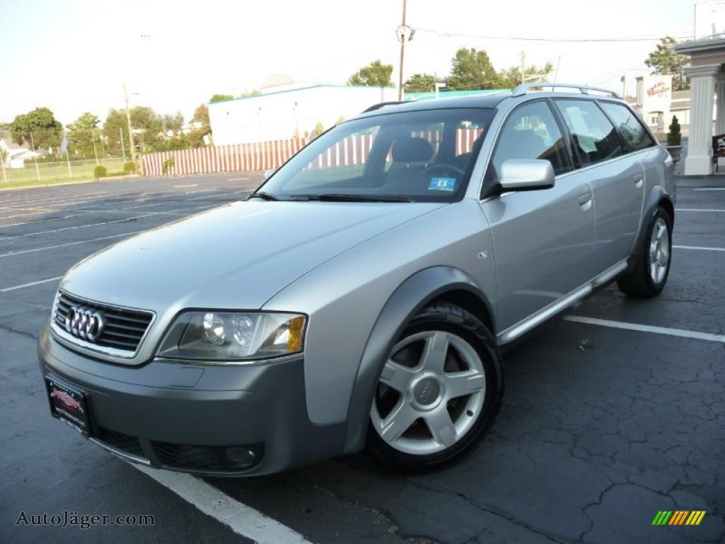 2003 audi allroad 2 7t quattro in light silver 004736 auto j ger german cars for sale in. Black Bedroom Furniture Sets. Home Design Ideas