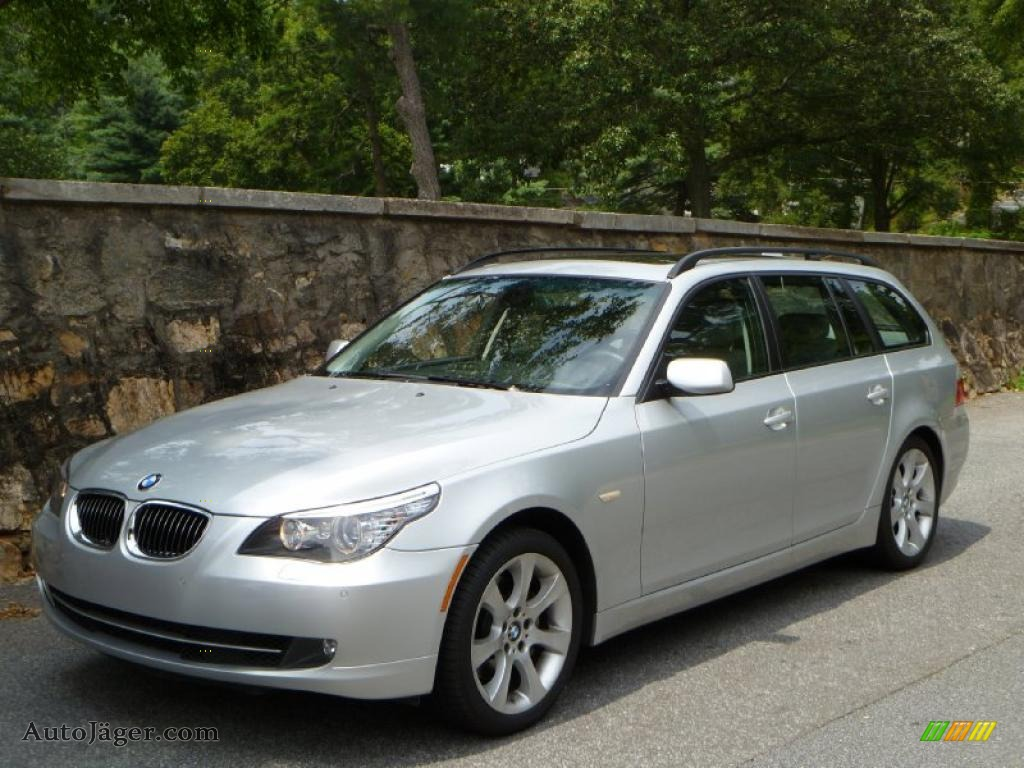 2008 Bmw 5 Series 535xi Sports Wagon In Titanium Silver Metallic X02092 Auto Jager German Cars For Sale In The Us