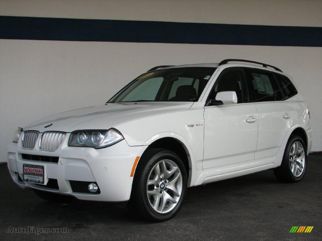 2008 bmw x3 in alpine white e78740 auto j ger. Black Bedroom Furniture Sets. Home Design Ideas
