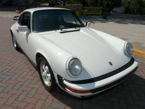 Grand Prix White 1988 Porsche 911 Carrera. Grand Prix White