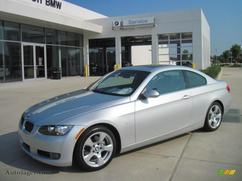 2008 Bmw 3 Series 328i Coupe In Titanium Silver Metallic 134723 Auto Jager German Cars For Sale In The Us
