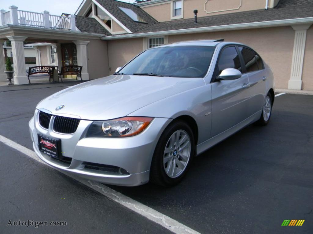2007 bmw 3 series 328i sedan in titanium silver metallic z73547 auto j ger german cars for. Black Bedroom Furniture Sets. Home Design Ideas