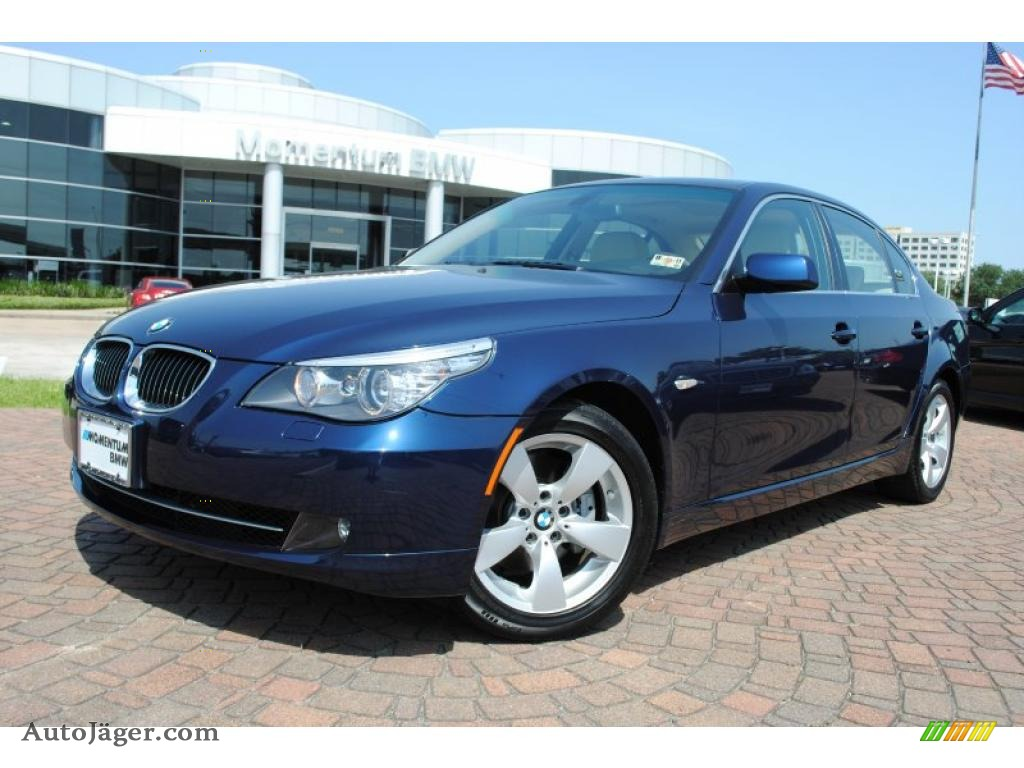 2008 Bmw 5 Series 528i Sedan In Monaco Blue Metallic