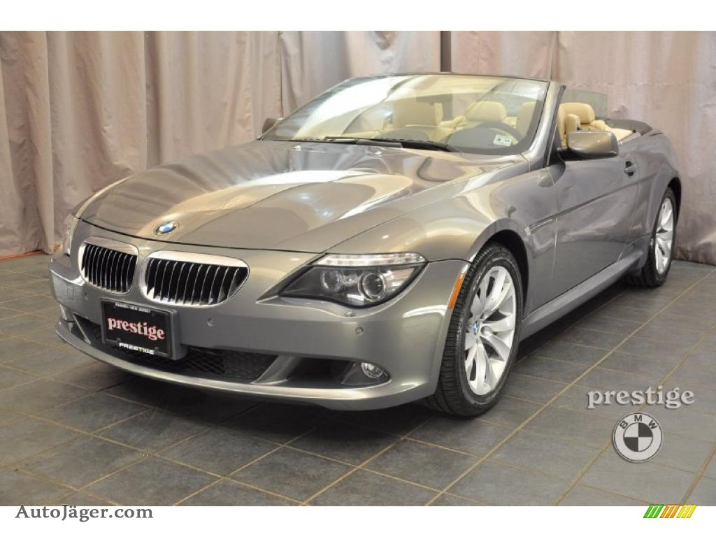 2008 bmw 6 series 650i convertible in space grey metallic x58162 auto j ger german cars. Black Bedroom Furniture Sets. Home Design Ideas