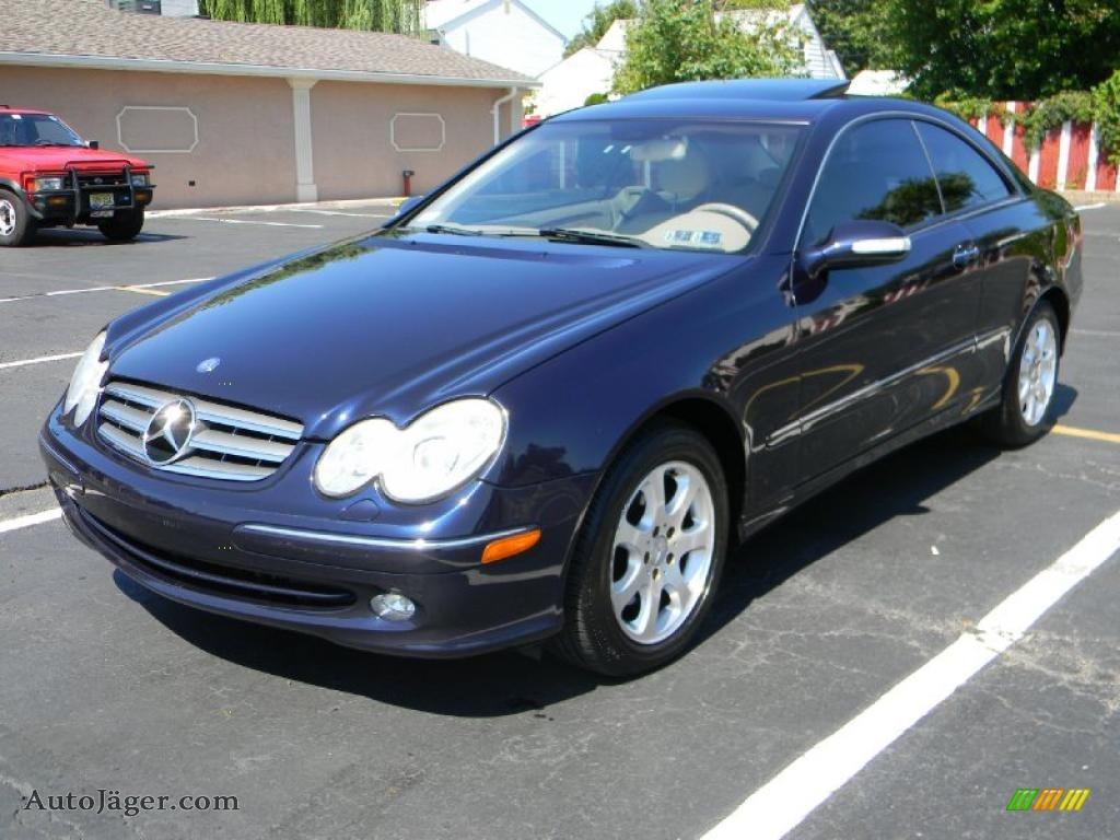 2003 mercedes benz clk 320 coupe in capri blue metallic for Blue mercedes benz
