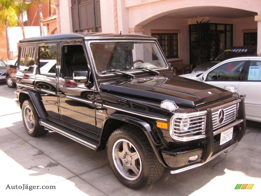 2008 mercedes benz g 55 amg in black photo 11 171143 for Simonson mercedes benz