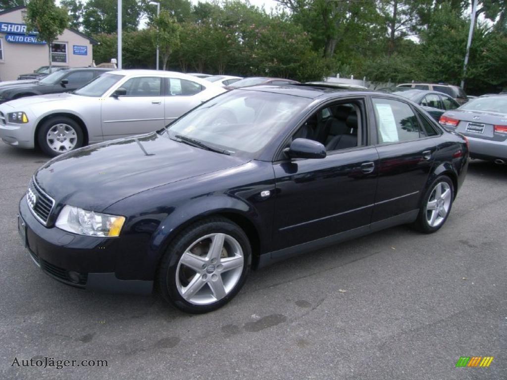 2002 audi a4 1.8t quattro sedan in ming blue pearl effect - 294275