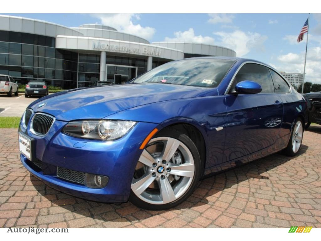 BMW Series I Coupe In Montego Blue Metallic - 2007 bmw 335i coupe for sale