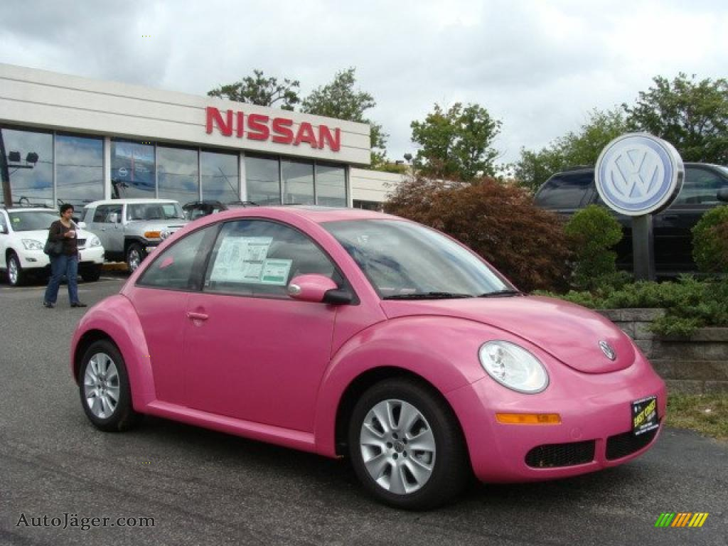 2010 Volkswagen New Beetle 2 5 Coupe In Pink 026748