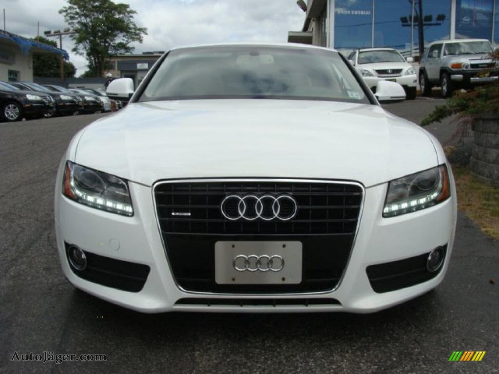 2008 audi a5 3 2 quattro coupe in ibis white photo 2. Black Bedroom Furniture Sets. Home Design Ideas