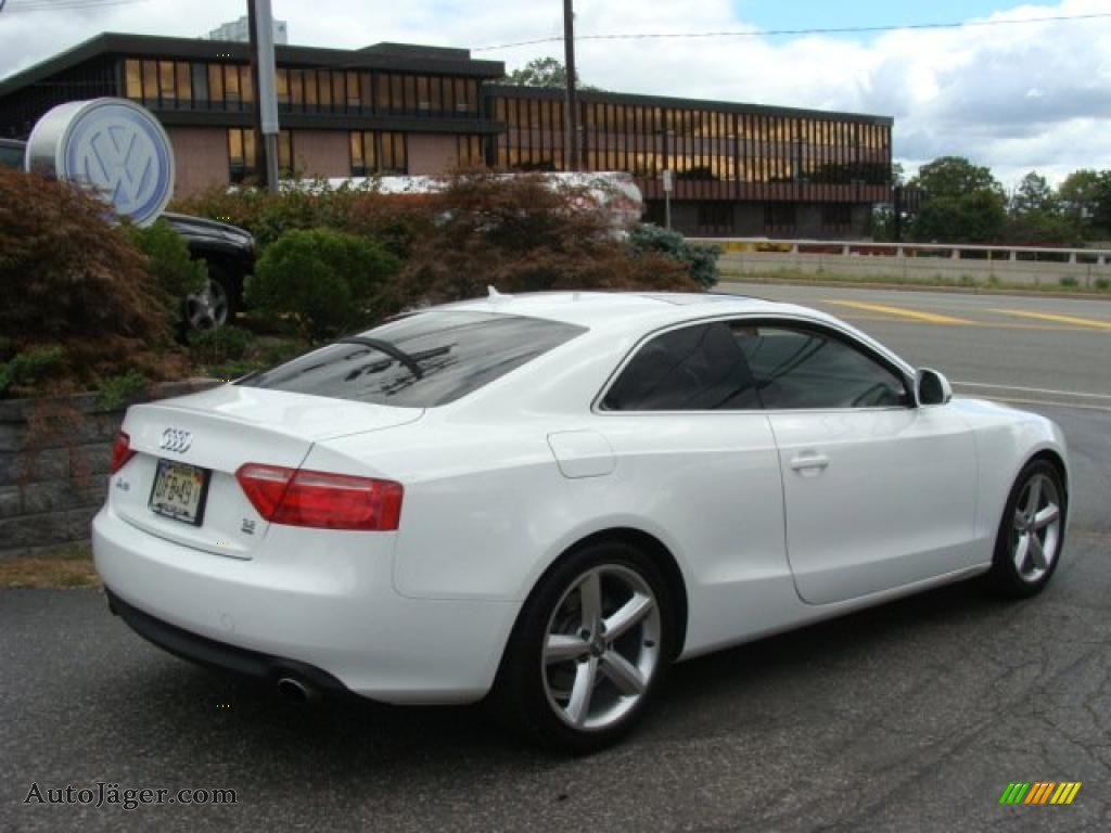 2008 audi a5 3 2 quattro coupe in ibis white photo 3. Black Bedroom Furniture Sets. Home Design Ideas