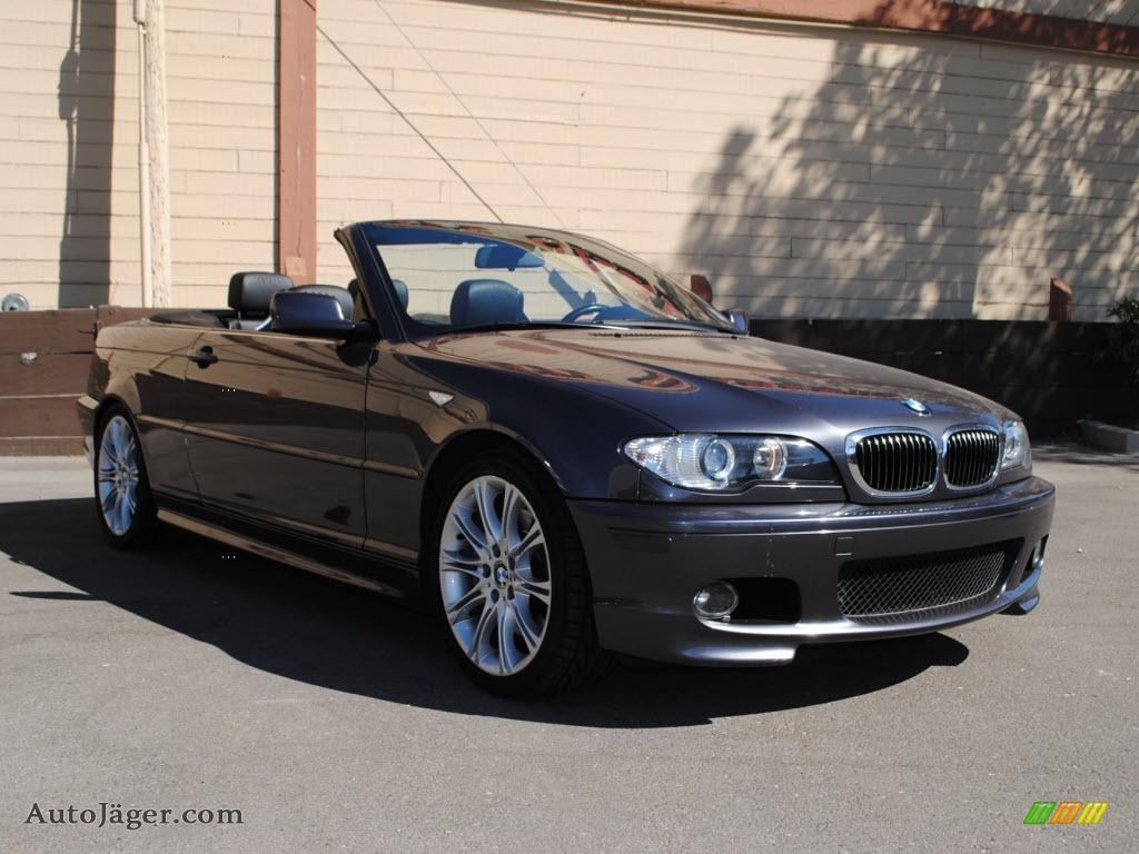 2005 Bmw 3 Series 330i Convertible In Sparkling Graphite