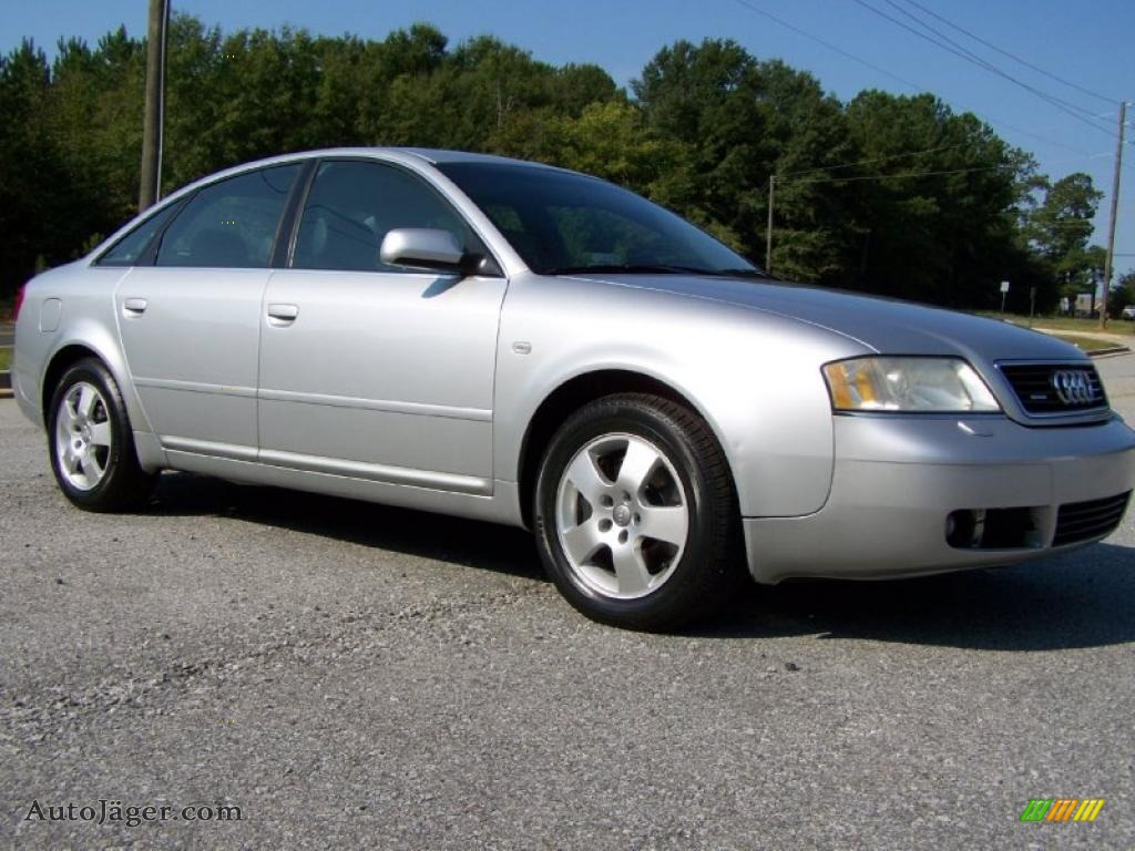 2001 audi a6 2 7t quattro sedan in light silver metallic 105939 auto j ger german cars for. Black Bedroom Furniture Sets. Home Design Ideas
