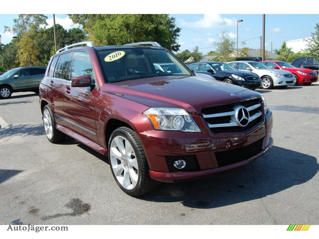 2010 Mercedes Benz Glk 350 In Barolo Red Metallic 425723
