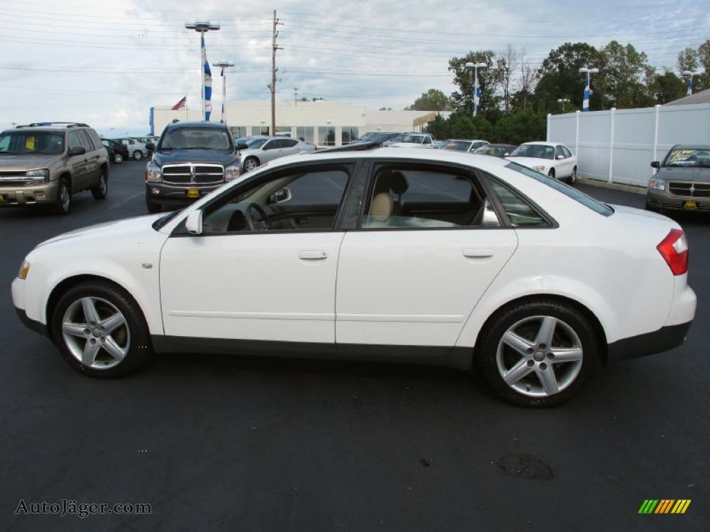 2003 audi a4 1.8t quattro sedan in polar white - 258831   auto
