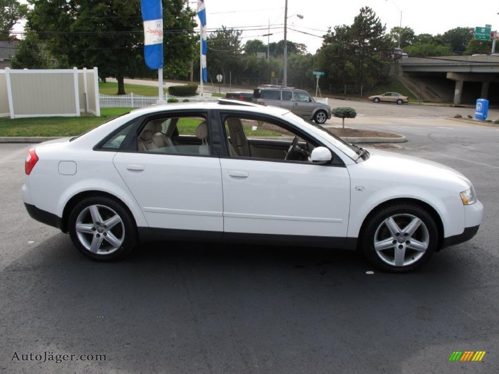 2003 audi a4 1.8t quattro sedan in polar white photo #6 - 258831