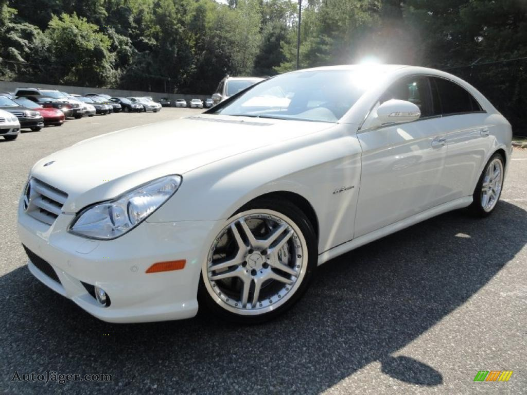 2008 CLS 63 AMG - Arctic White