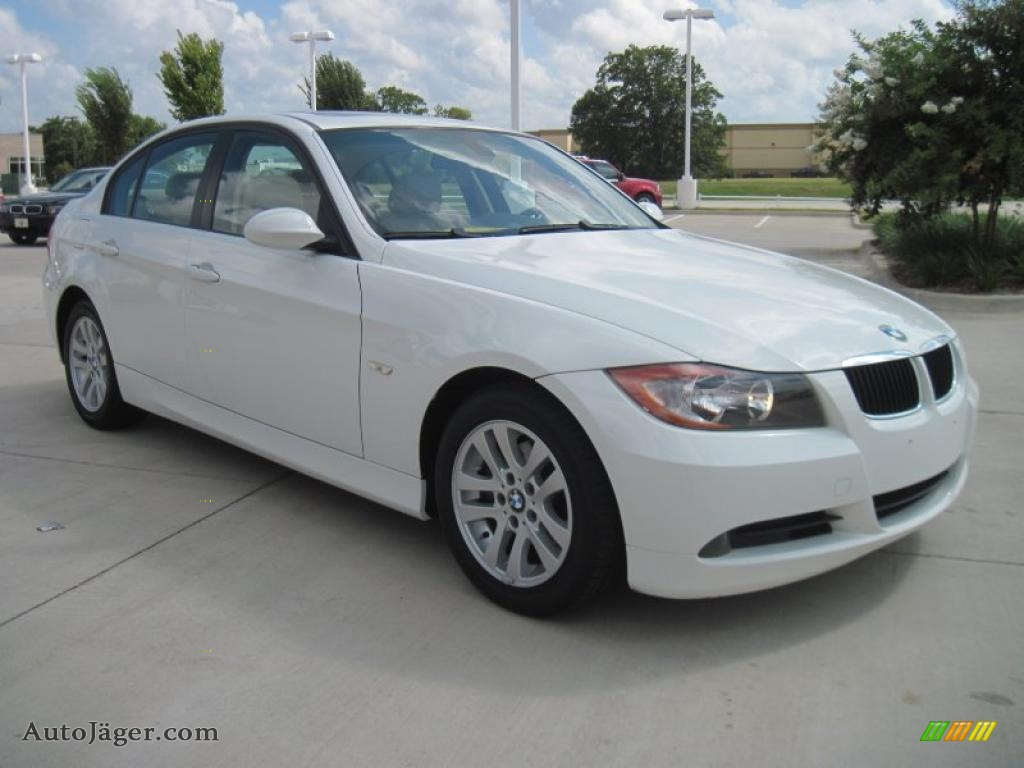 2006 Bmw 3 Series 325i Sedan In Alpine White T12520