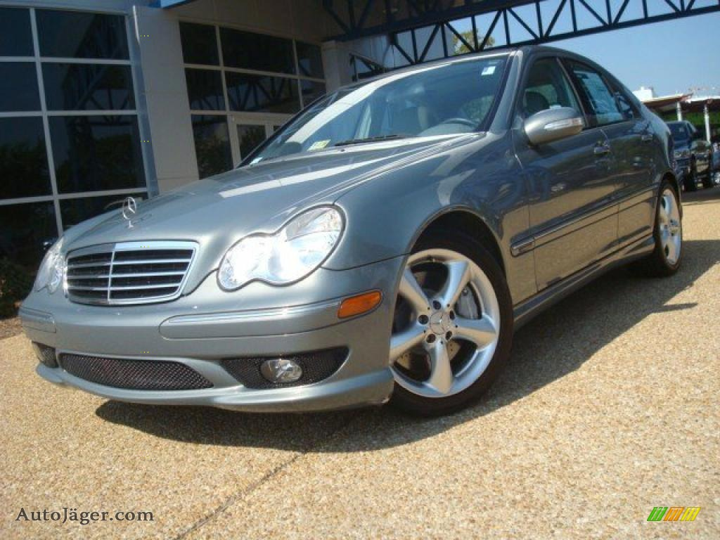 2006 mercedes benz c 230 sport in granite grey metallic Tysinger motor company