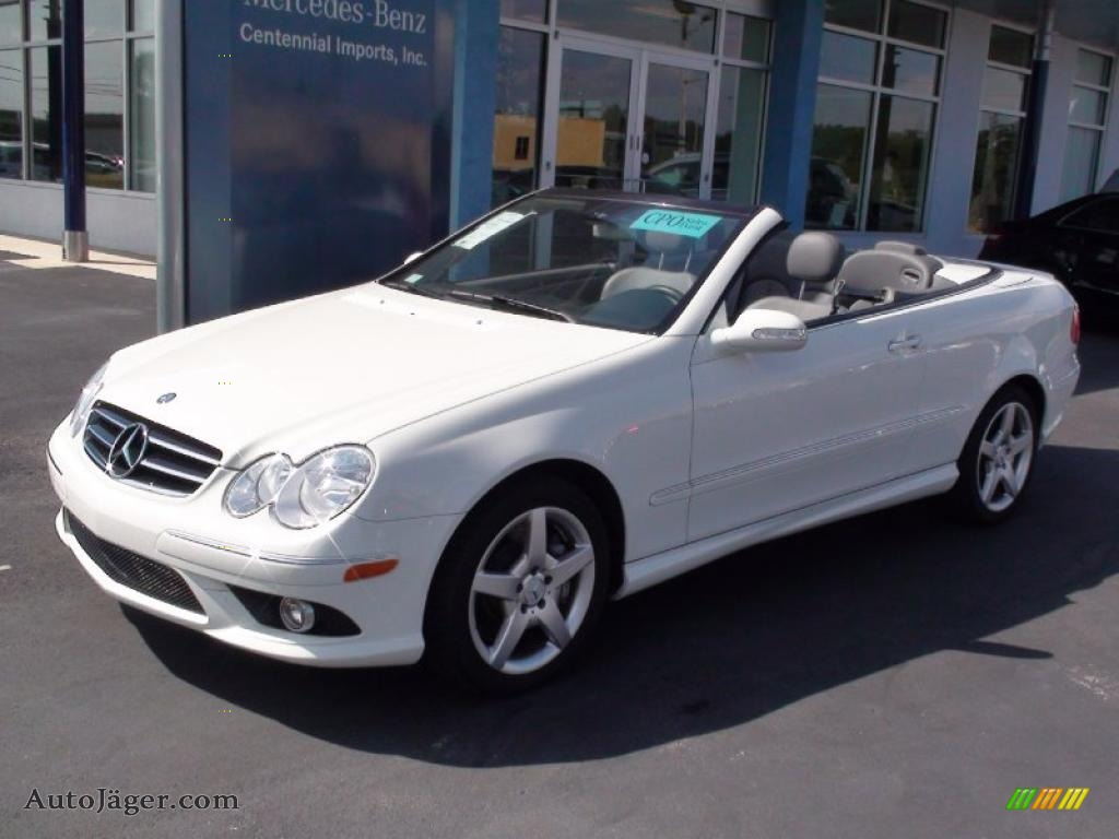 2007 mercedes benz clk 550 cabriolet in arctic white photo for 2007 mercedes benz clk550
